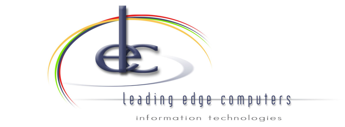 Leading Edge Computers logo