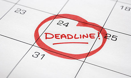 Your deadlines are our deadlines